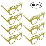 BESTOYARD 10-Pack Happy New Year Party Brille